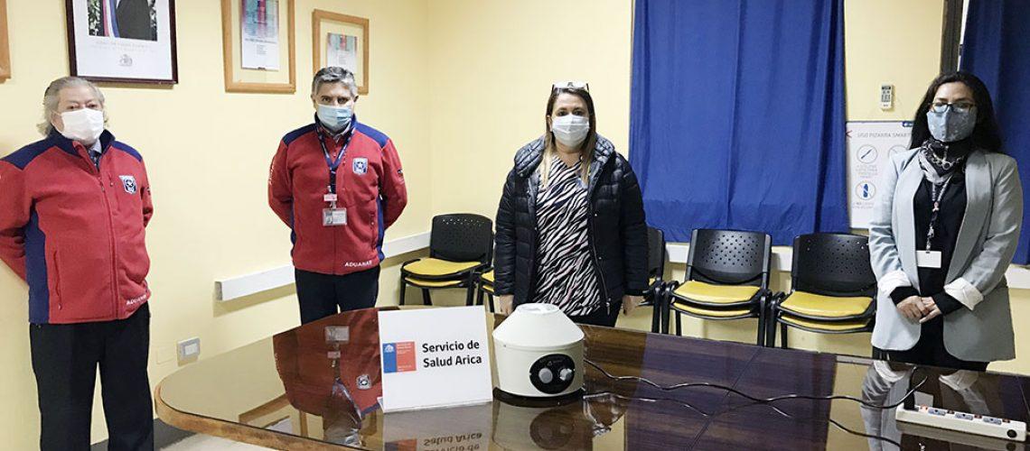 ADUANA 03 donacion centrifuga aduanas