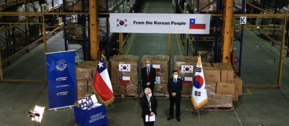 DONACION KOREA